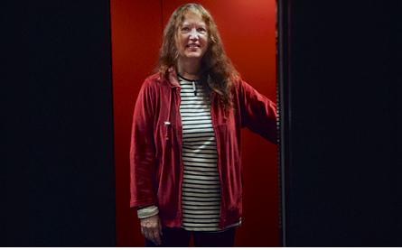 Kjersti Bosdotter håller i kulturfrågor på IF Metall men jobbar också tvärfackligt. Foto: ALEXANDER DONKA