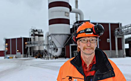 Avdelningsordförande Ronny Hellström. Foto: HÅKAN NORDSTRÖM