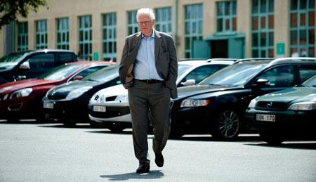 Svenåke Berglie, vd på FKG, hävdar att det definitivt inte är underleverantörernas fel att Saabs produktion står stilla. Foto: ADAN IHSE