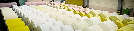 Lessebo bruk producerar bland annat papper till löpsedlar. Foto: JOHANN SELLES