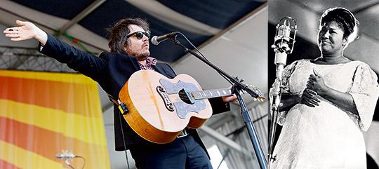 Wilcos Jeff Tweedy och Mahalia Jackson har kommit med två vitt skilda Jesus-budskap i sin musik.