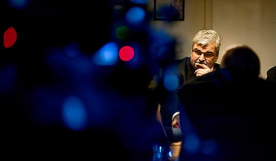 Håkan Juholt är inte ensamt skyldig till S låga stöd, anser Stefan Löfven. Foto: ADAM IHSE