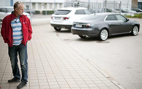 """""""Verkligen på tiden"""", säger Håkan Skött, klubbordförande på IF Metall, om att de anställda nu ska få träffa konkursförvaltarna igen. BJÖRN LARSSON ROSVALL"""