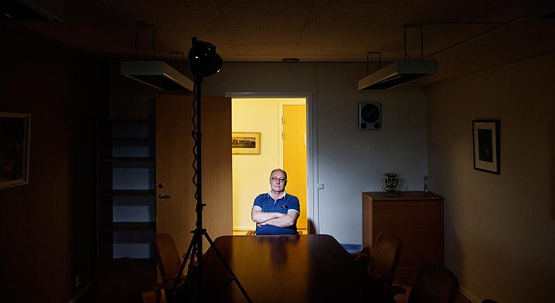 """Micael Arnström vill att visstidsanställda på bemanningsföretag ska få  större trygghet. I dag kan bemanningsföretaget avbryta en anställning utan att behöva motivera. """"Tyvärr tror jag detta är jättevanligt"""", säger han.  Foto: ANDERS ANDERSSON"""