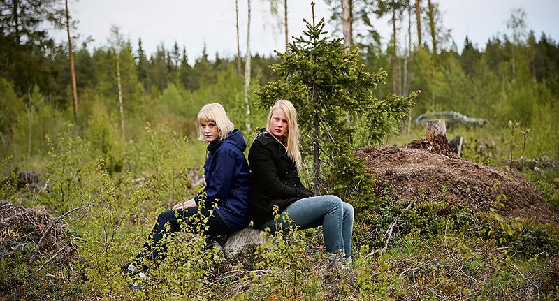 Som enda personer i landet har KlaraBärta Näsholm och Lina Wallinder lyckats få ett ärende om könstrakasserier till domstol. Foto: OLA WESTERBERG