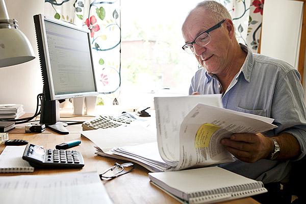 Försäkringskassans läkare ska ha en rådgivande roll. Men Steve Dahlin märkte, i sitt jobb på kassan i Jönköping, att de i praktiken helt styr bedömningarna. Foto: VERONIKA LAX