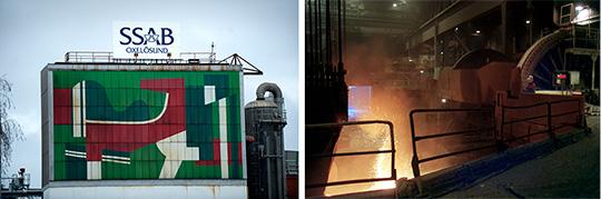IF Metallarna vid SSAB i Borlänge och Luleå att få 90 procent av lönen mot att de jobbar 80 procent av tiden. Oxelösund röstade nej på torsdagkvällen.  Foto: CLAUDIO BRESCIANI och MARK EARTHY