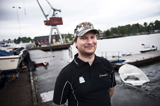 Robin Zackrisson.  Foto: OLA HÅKANSSON