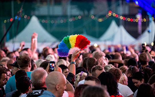 Pride-festivalen är inget för arbetsgivarorganisationerna Svenskt n Foto: CHRISTINE OLSSON