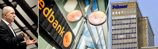 Swedbank har redan plockat bort Stora Enso från sina hållbarhetsfonder. Nu behöver koncernchefen Jouko Karvinen presentera en tydlig handlingsplan om Folksam och KPA ska behålla företaget bland sina.  Foto: TT NYHETSBYRÅN