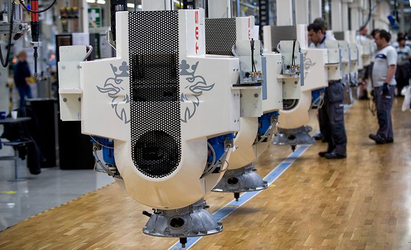 Randstads anställda inne på Scania har inte fått del av den bonus  Scanias anställda har, vilket IF Metall ser som en dumpning av villkoren. Foto: FREDRIK SANDBERG