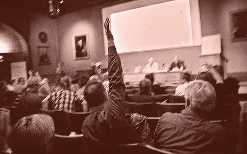 Pappers håller kongress 5-7 september. Bilden är tagen på Pappers extra förbundsmöte inför avtalsrörelsen 2011. Foto: ULLA LINNARSSON