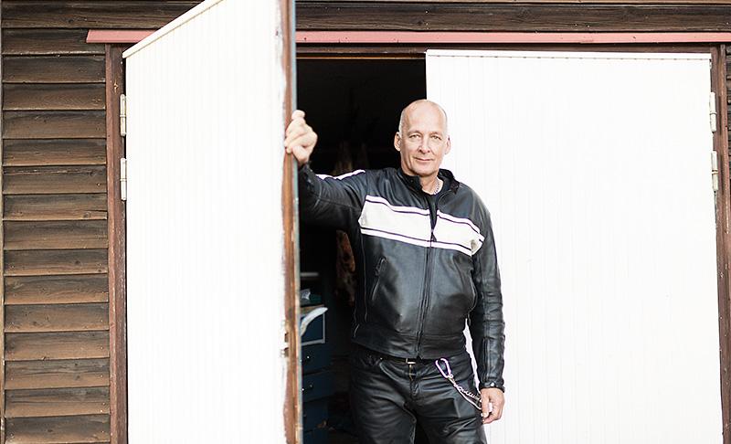 Lars Piirhonen. Foto:Sonja Jansson.