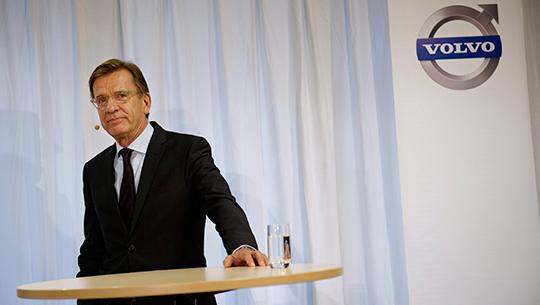 Håkan Samuelsson ska få bilköparna att välja Volvo. Foto: JESSICA GOW