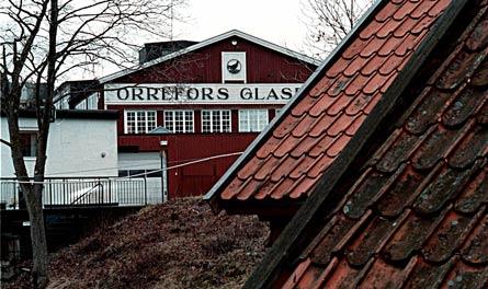 Dagen efter beslutet om att lägga ner tillverkningen av slipad kristall råder det förstämning i Orrefors. Foto: SCANPIX