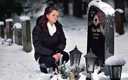 Praktikanter – som Josefin Norlins pappa Håkan – ingår inte i statistiken över dödsolyckor på jobbet. Foto: ROGER VIKSTRÖM